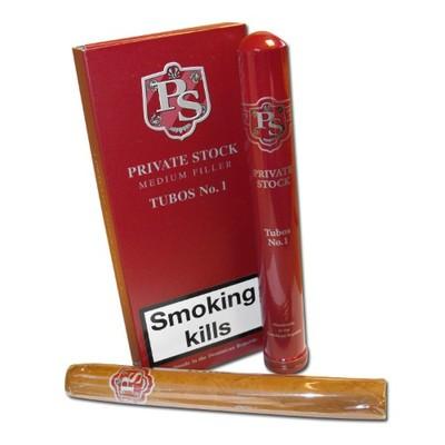 Сигары Private Stock Medium Filler No. 1 Tubos вид 1