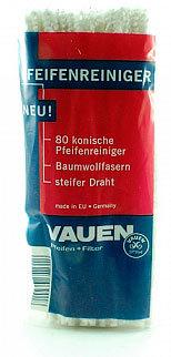 Ерши для трубок Vauen мягкие белые 80 шт. вид 1
