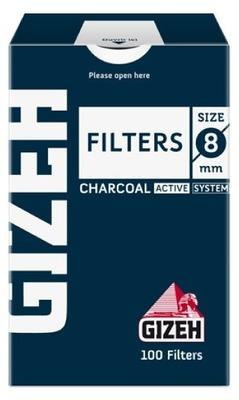 Фильтры для самокруток Gizeh Standard Carbon вид 1