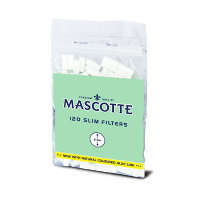 Фильтры для самокруток Mascotte Slim Filter 6 мм вид 2
