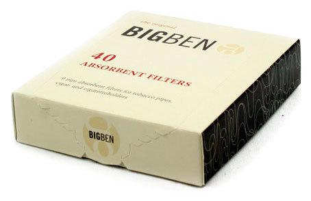 Фильтры для трубок Big-Ben 9мм 40 шт вид 1