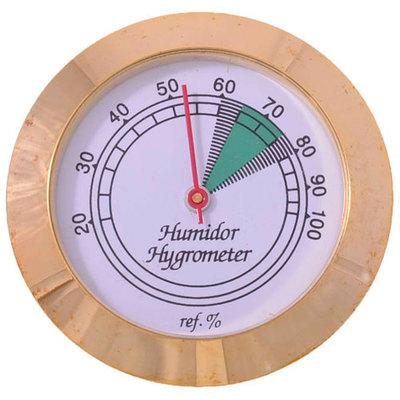 Гигрометр Аналоговый Gold 43 мм 605g вид 1