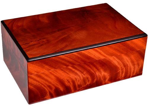 Хьюмидор Gentili на 30 сигар H03-Piuma Красное дерево вид 1