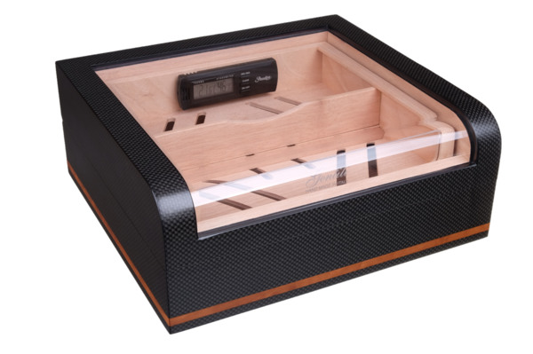 Хьюмидор-шкаф Gentili на 40 сигар CPL-40 Карбон вид 1