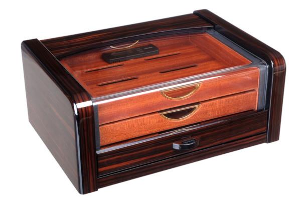 Хьюмидор-шкаф Gentili на 40 сигар CUBANA Макассар вид 1