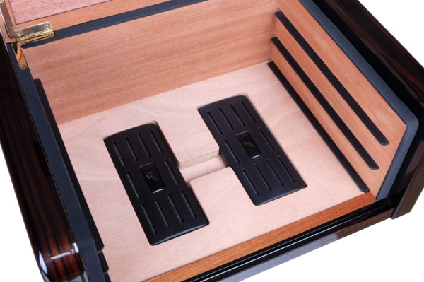 Хьюмидор-шкаф Gentili на 40 сигар CUBANA Макассар вид 4