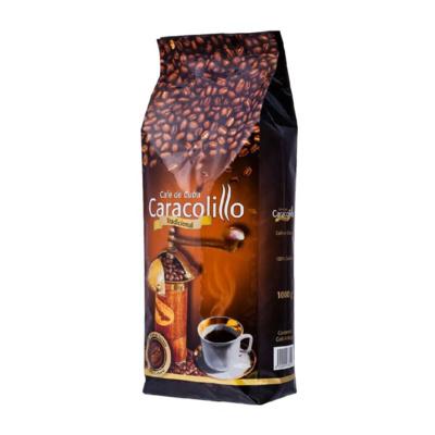 Кубинский Кофе Caracolillo в зернах 1000гр вид 2