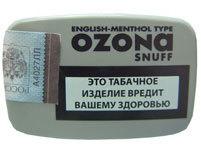 Нюхательный табак Ozona English - Menthol вид 1
