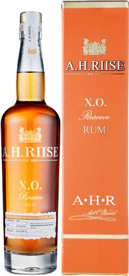 Ром A.H. Riise XO Reserve, Super Premium Single Barrel, 2017, gift box, 0.7 л вид 1