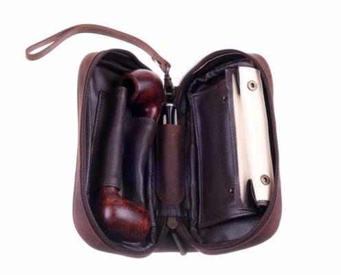 Сумка P&A для 2 трубок и табака 414-Buffalo вид 2