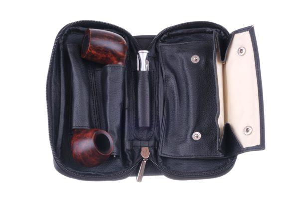 Сумка P&A для 2 трубок и табака 415-Black вид 2