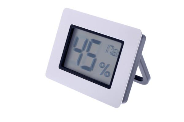 Термо-гигрометр Цифровой Серебро 596-521s вид 2