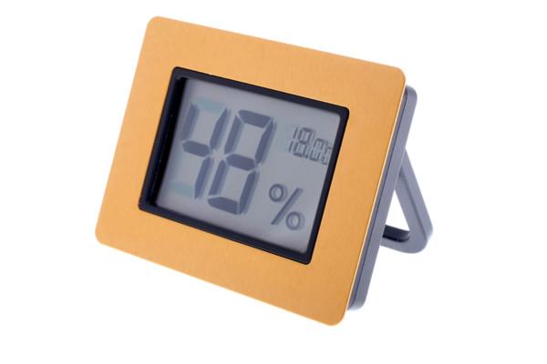Термо-гигрометр Цифровой Золото 596-521g вид 2