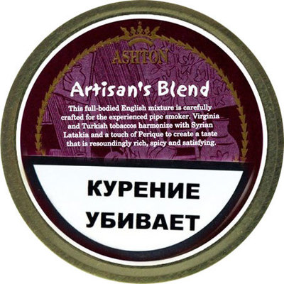 Трубочный табак Ashton Artisan's Blend вид 1
