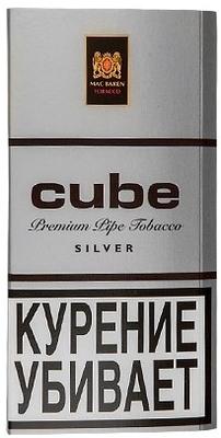 Трубочный табак Mac Baren Cube Silver (40 гр.) вид 1