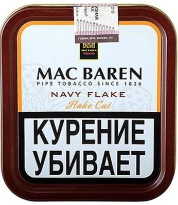 Трубочный табак Mac Baren Navy Flake вид 1