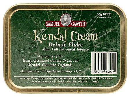 Трубочный табак Samuel Gawith Kendal Cream Deluxe Flake (50 гр.) вид 1