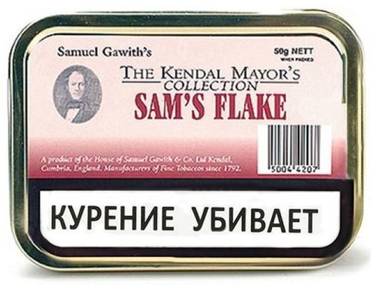 Трубочный табак Samuel Gawith Sam's Flake (50 гр.) вид 1