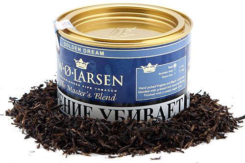 Трубочный табак W.O.Larsen Master′s Blend Golden Dream вид 1