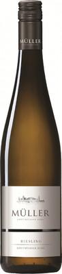 Вино Muller, Riesling Gottweiger Berg, 0,75 л. вид 1
