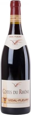 Вино Vidal-Fleury Cotes du Rhone Rouge, 0,75 л. вид 1