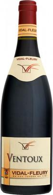 Вино Vidal-Fleury, Ventoux AOC Rouge, 0,75 л. вид 1
