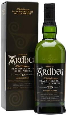 Виски Ardbeg 10 YO, in gift box, 0.7 л вид 1