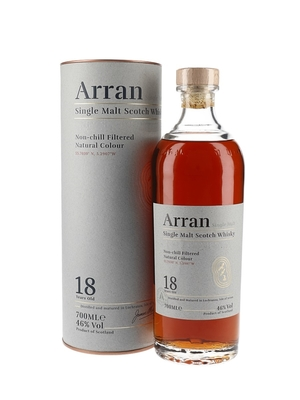 Виски Arran 18 Years Old, in tube, 0.7 л. вид 2
