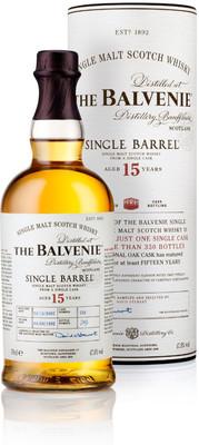 Виски Balvenie Single Barrel 15 Years Old, gift tube, 0.7 л вид 1