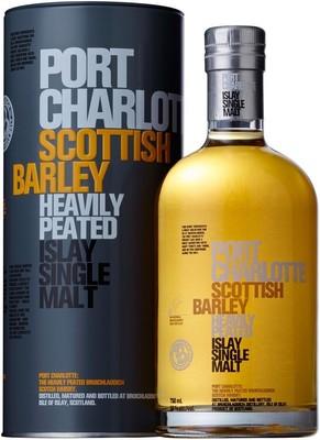 Виски Bruichladdich Port Charlotte Scottish Barley, in tube, 0.7 л вид 1