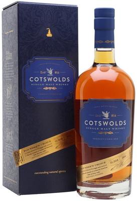Виски Cotswolds Founder's Choice gift box, 0.7 л. вид 1