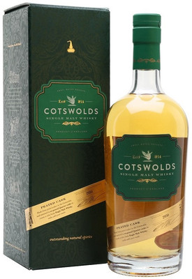 Виски Cotswolds Peated Cask gift box, 0.7 л. вид 1
