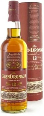 Виски Glendronach Original 12 years Old In Tube, 0.7 л вид 1