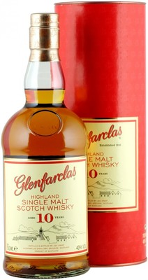 Виски Glenfarclas 10 years, 0.7 л вид 1