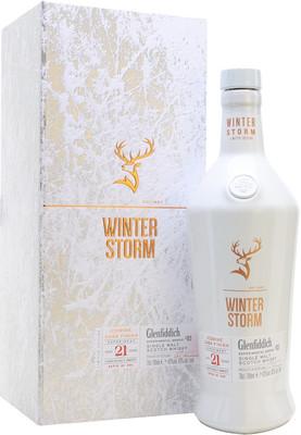 Виски Glenfiddich Winter Storm 21 Years Old, gift box, 0.7 л вид 1