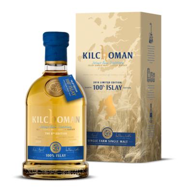 Виски Kilchoman 100% Islay Gift Box, 0.7л вид 1