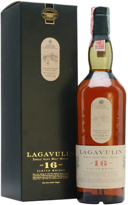 Виски Lagavulin malt 16 years old, with box, 0.75 л вид 1