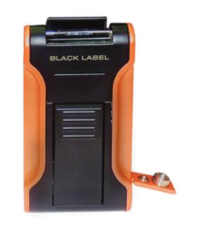 Зажигалка Black Label Dictator LBL 80070 Black & Orange вид 2