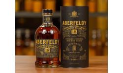 Новинка от Aberfeldy: 18-летний скотч, выдержанный в бочках из-под красного вина